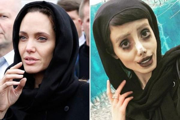 震惊!伊朗女迷恋朱莉疯狂模仿 被传做50次手术