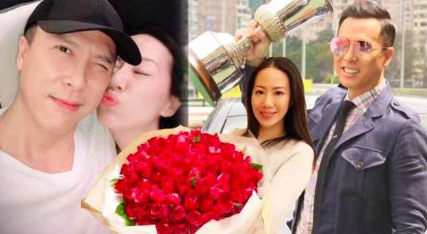甄子丹分享宠妻秘诀:一年送花N多次