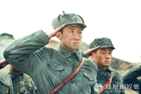 张一山《我的父亲我的兵》热播 网友:真的很man