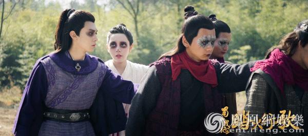 《蜀山战纪2》众人齐聚落仙宫 英奇浪漫表白