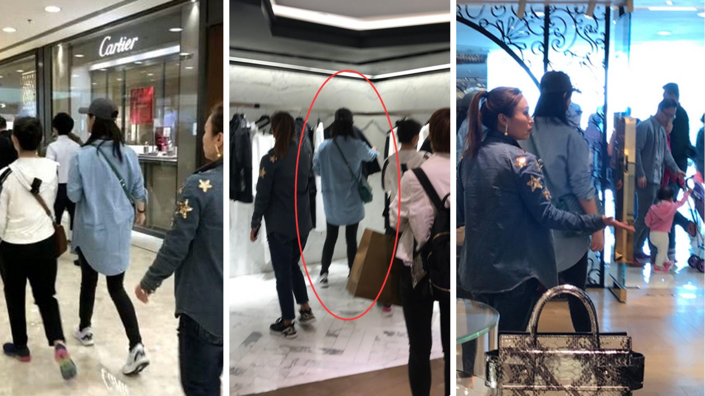 蒋欣商场被偶遇 减肥成果惊人变得又高又瘦!